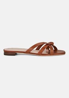 Loeffler Randall Women's Eveline Leather Slide Sandals