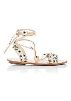 Loeffler Randall Women's Fleura Ankle-Wrap Sandals
