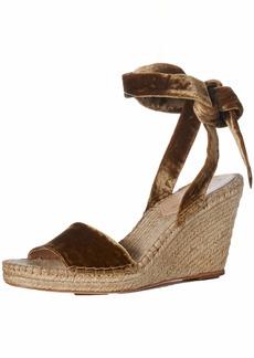 Loeffler Randall Women's Harper-Cvl Espadrille Wedge Sandal  6 Medium US