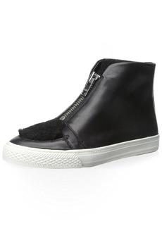 Loeffler Randall Women's High-Top Zip Sneaker