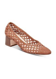 Loeffler Randall Women's Imogene Woven Block-Heel Pumps