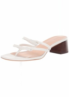 Loeffler Randall Women's Jean-N Heeled Sandal Optic White  Medium US