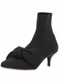 Loeffler Randall Women's Kassidy-SKB Ankle Boot Black Metallic 10.5 Medium US