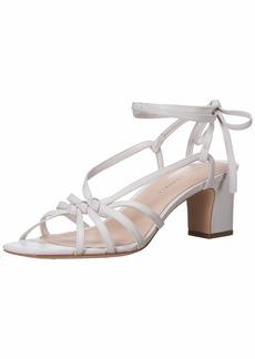 Loeffler Randall Women's Libby-N Heeled Sandal Optic White 9.5 Medium US