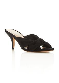 Loeffler Randall Women's Luisa Knotted Bow Kitten-Heel Sandals