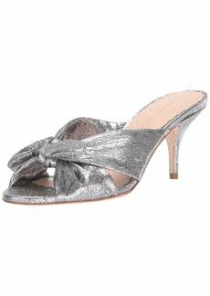 Loeffler Randall Women's Luisa-LME Heeled Sandal   Medium US