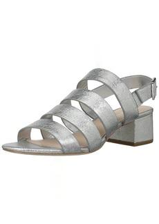 Loeffler Randall Women's Mavis (Crinkle Metallic) Heeled Sandal   M US