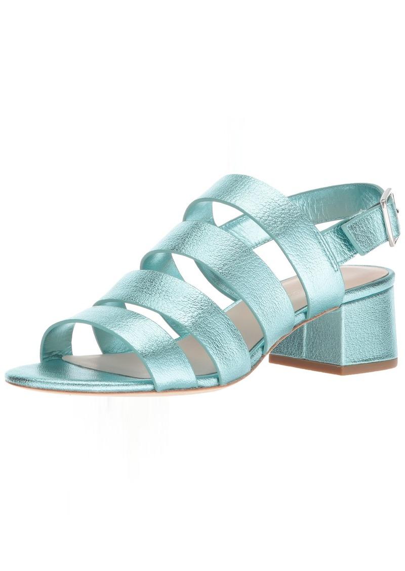 Loeffler Randall Women's Mavis (Foiled Lambskin) Heeled Sandal   M US