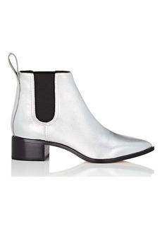Loeffler Randall Women's Nellie Metallic Leather Chelsea Boots