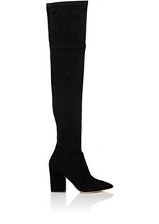 Loeffler Randall Women's Ophelia Suede Over-The-Knee Boots