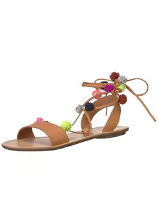 Loeffler Randall Women's Saskia Flat Sandal   M US