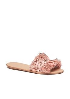 Loeffler Randall Woven Slide Sandal (Women)