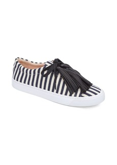 Loeffler Randall Logan Tassel Striped Sneakers