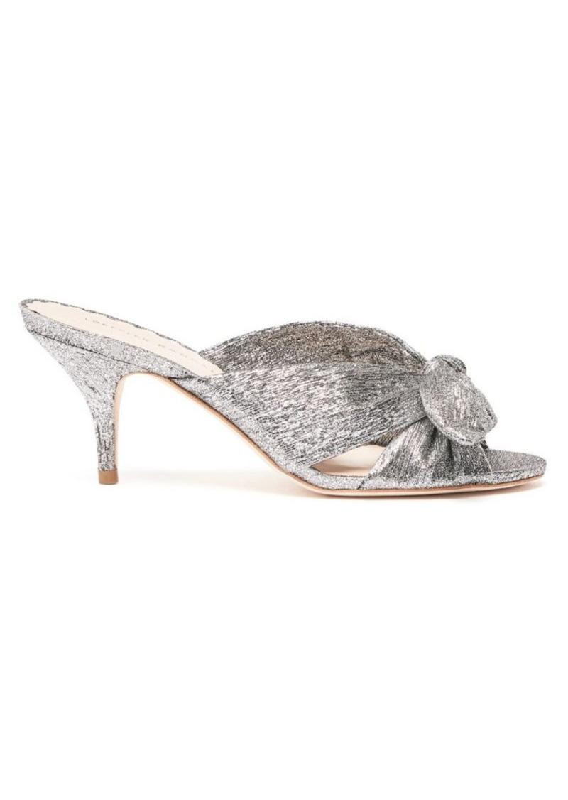 Loeffler Randall Luisa Knotted Kitten Heel Slide
