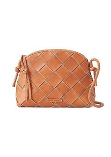 Loeffler Randall Mallory Woven Leather Crossbody Bag