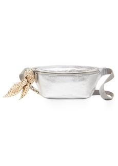 Loeffler Randall Metallic Leather Belt Bag