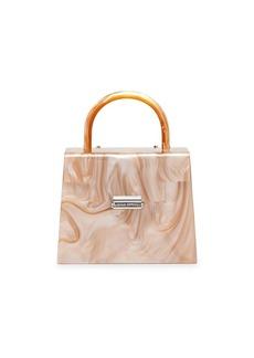 Loeffler Randall Mini Flavia Hard Case Top-Handle Bag