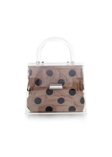 Loeffler Randall Mini Translucent Polka Dot Bag