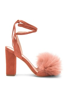 Loeffler Randall Nicolette Fox Fur Heel