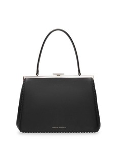 Loeffler Randall Olivia Leather Top Handle Frame Bag
