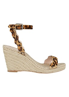 Loeffler Randall Parker Leopard Print Wedge Sandals
