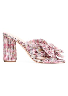 Loeffler Randall Penny Multifloral Knotted Mules