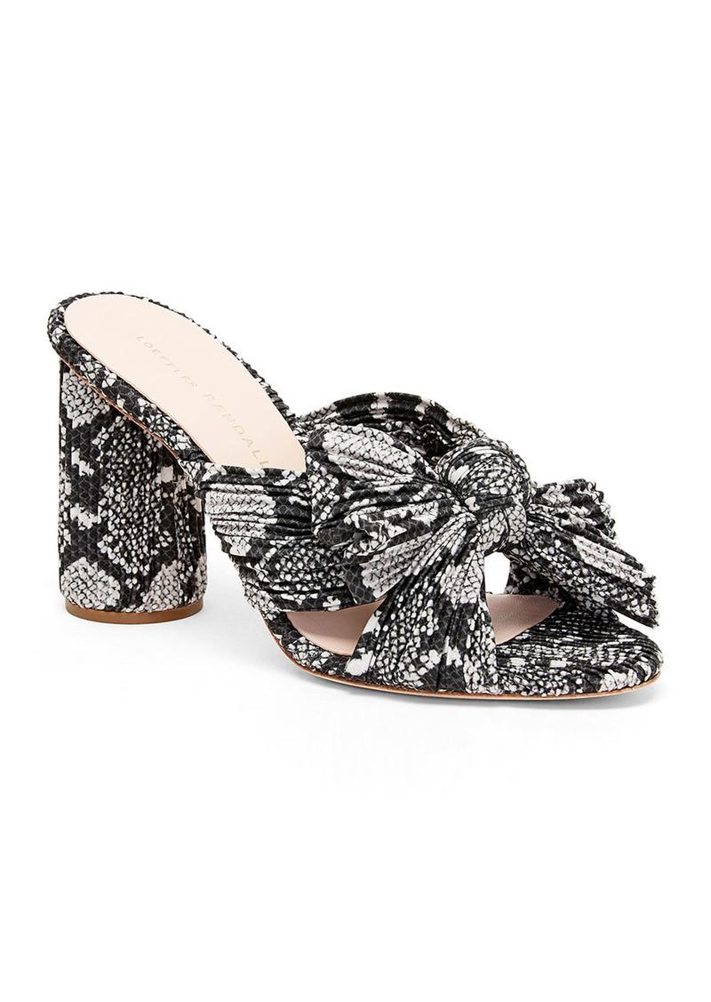 Loeffler Randall Penny Tulle Knot Sandals