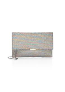 Loeffler Randall Rainbow Lamé Convertible Envelope Clutch