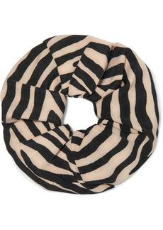 Loeffler Randall Romie Zebra-print Hair Tie