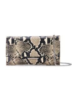 Loeffler Randall snakeskin print crossbody bag