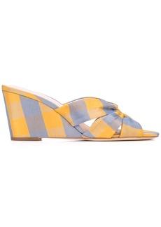 Loeffler Randall Sonya wedge sandals