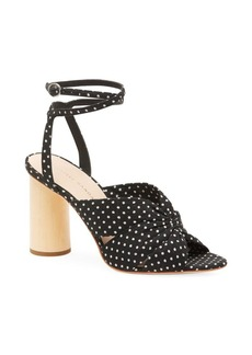 Loeffler Randall Tatiana Ankle-Strap Cinched Sandals