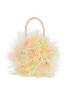 Loeffler Randall Zadie Feather Circle Bag