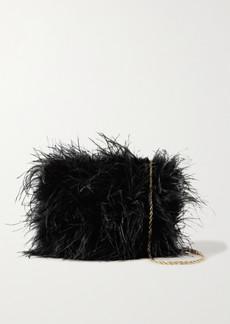 Loeffler Randall Zelda Feather Shoulder Bag