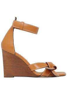 Loewe 100mm Leather Sandals