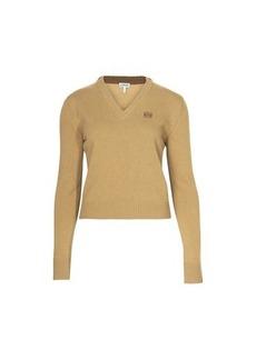 Loewe Anagram cropped sweater