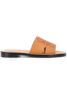 Loewe Anagram flat sandals