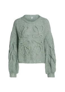 Loewe Anagram Mohair Knit Sweater