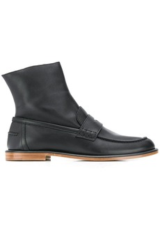 Loewe ankle-length loafer boots
