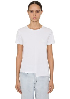 Loewe Asymmetric Cotton Jersey T-shirt