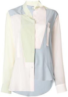 Loewe asymmetric oversized shirt