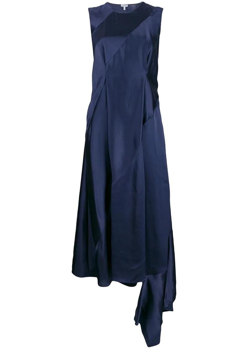 Loewe asymmetric panelled dress