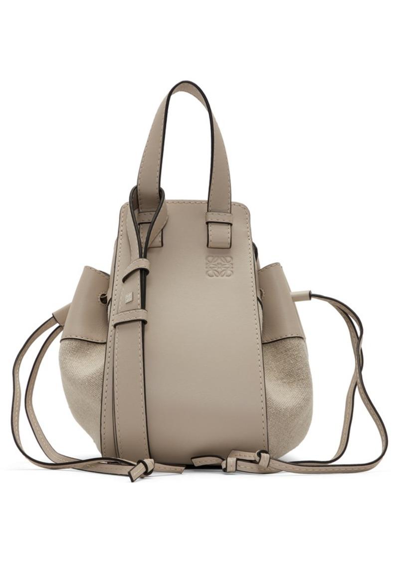 Loewe Beige Small Hammock Bag