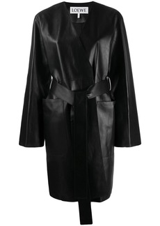 Loewe belted midi coat