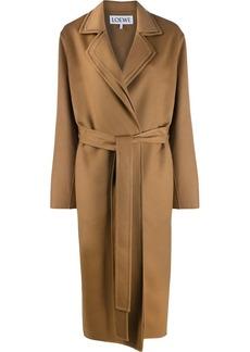 Loewe belted oversized coat