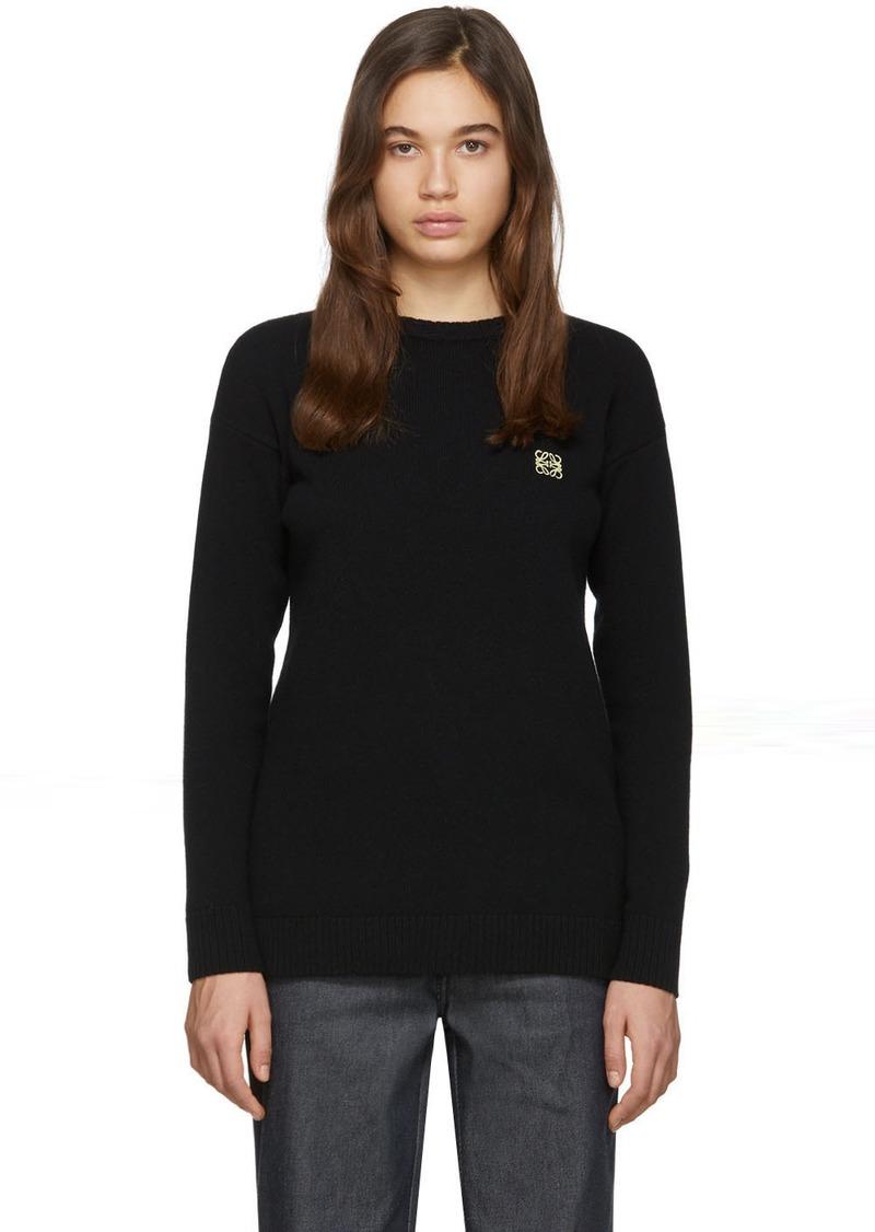 Loewe Black Anagram Sweater