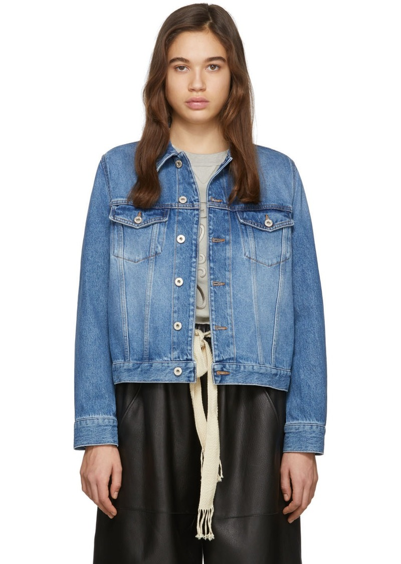Loewe Blue Denim Adjustable Jacket