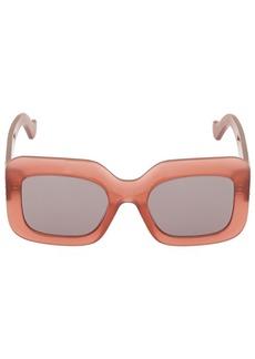 Loewe Bolded Logo Squared Acetate Sunglasses