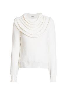 Loewe Braided Collar Wool Sweater