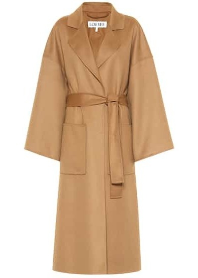Loewe Cashmere and wool oversized coat